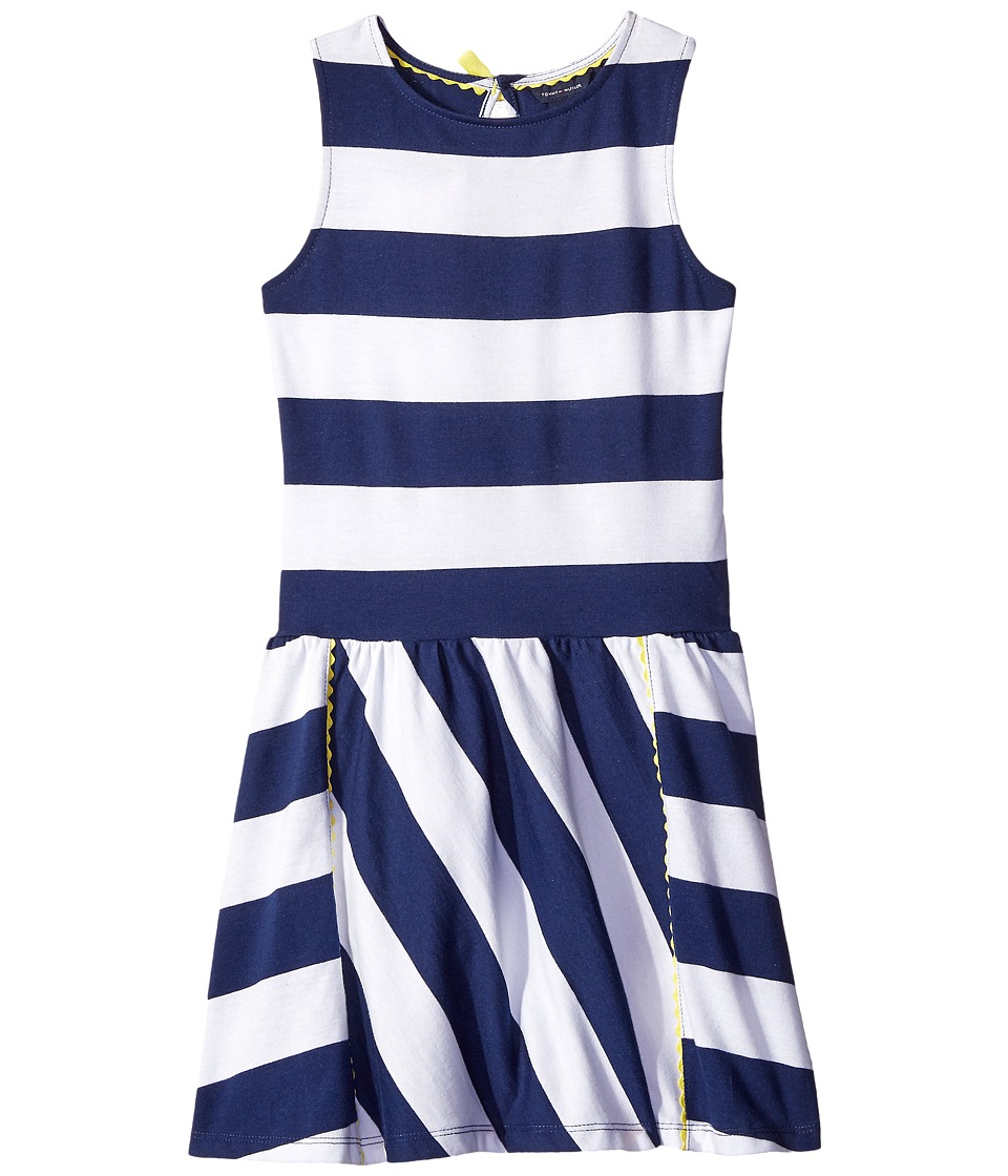 Tommy Hilfiger Kids - Rugby Stripe Knit Dress (Little Kids/Big Kids) (Flag Blue) Girl's Dress