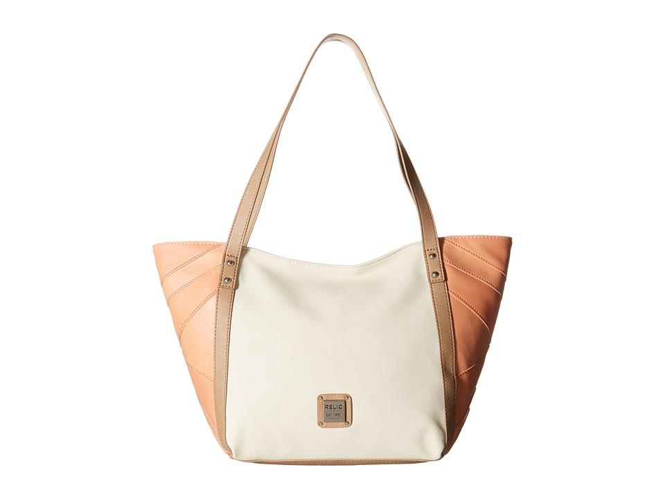 Relic - Leigh Double Shoulder (Cloud White) Shoulder Handbags