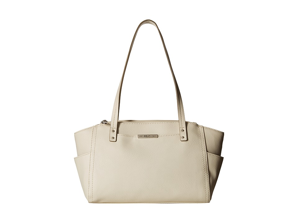 Relic - Caraway Solids Double Shoulder (Cloud White) Shoulder Handbags