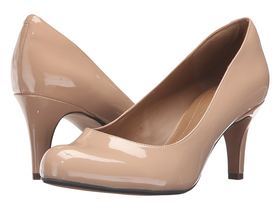 Clarks - Arista Abe (Nude Patent) Women's Shoes