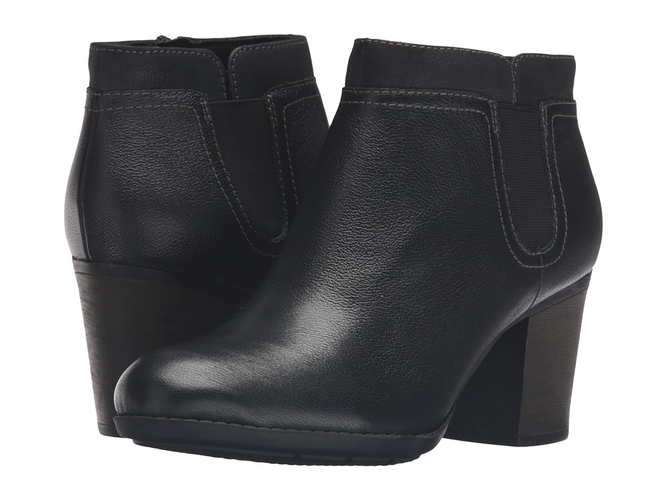 Clarks - Enfield Way (Black) Women's Shoes