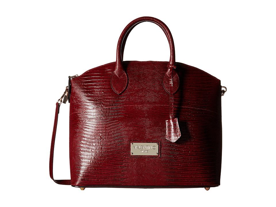 Valentino Bags by Mario Valentino - Bravia (Marsala) Satchel Handbags
