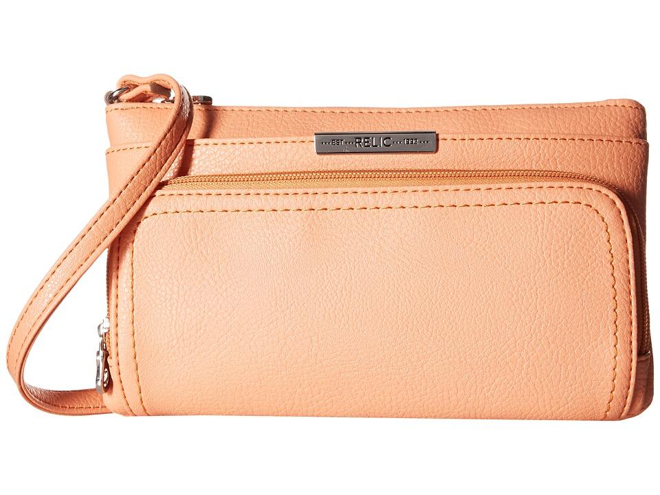 Relic - Caraway Solids Double Zip Mini (Apricot) Handbags