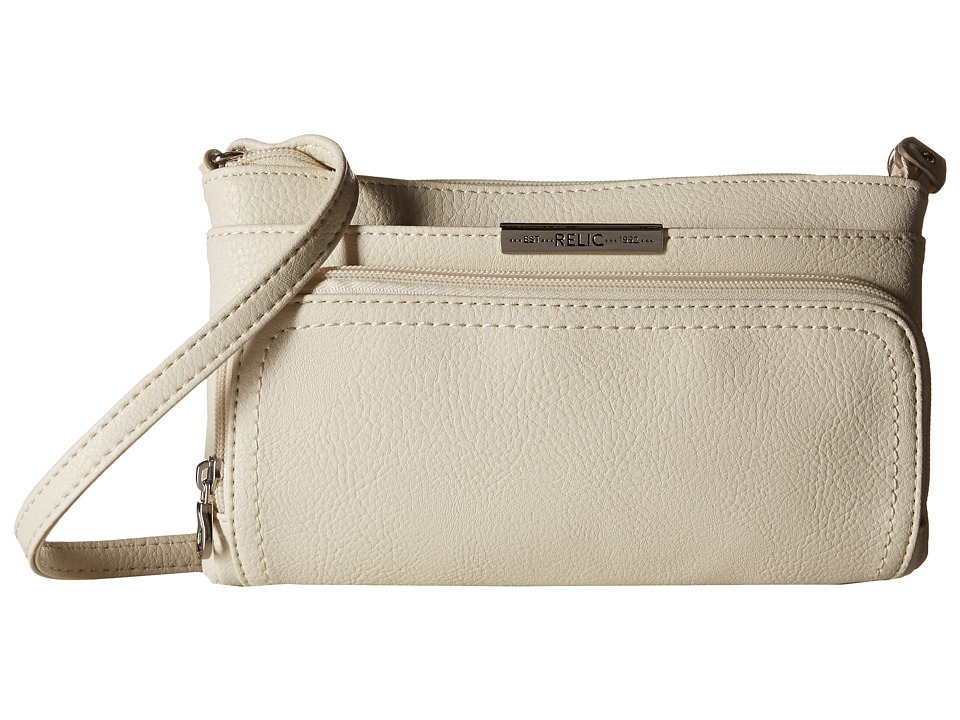 Relic - Caraway Solids Double Zip Mini (Cloud White) Handbags
