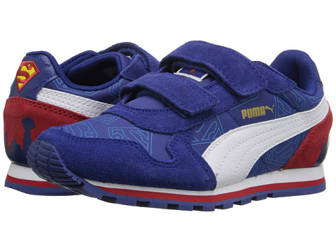 PUMA - ST Runner Superman (Infant/Toddler/Little Kid) (Sodalite Blue/Cloisonne) Men's Shoes