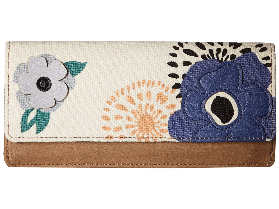 Relic - Addy Flap Checkbook (Flower) Checkbook Wallet