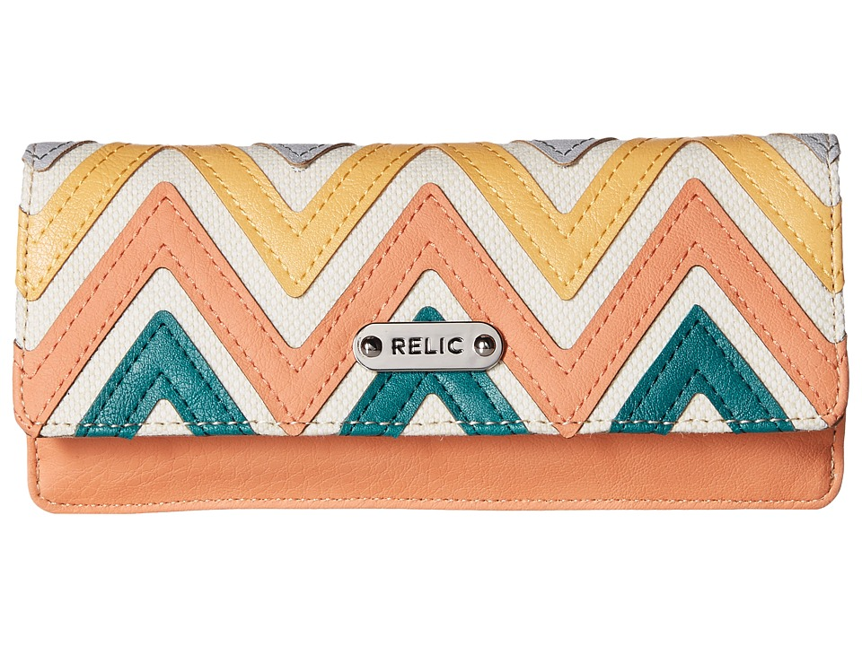 Relic - Addy Flap Checkbook (Multi) Checkbook Wallet