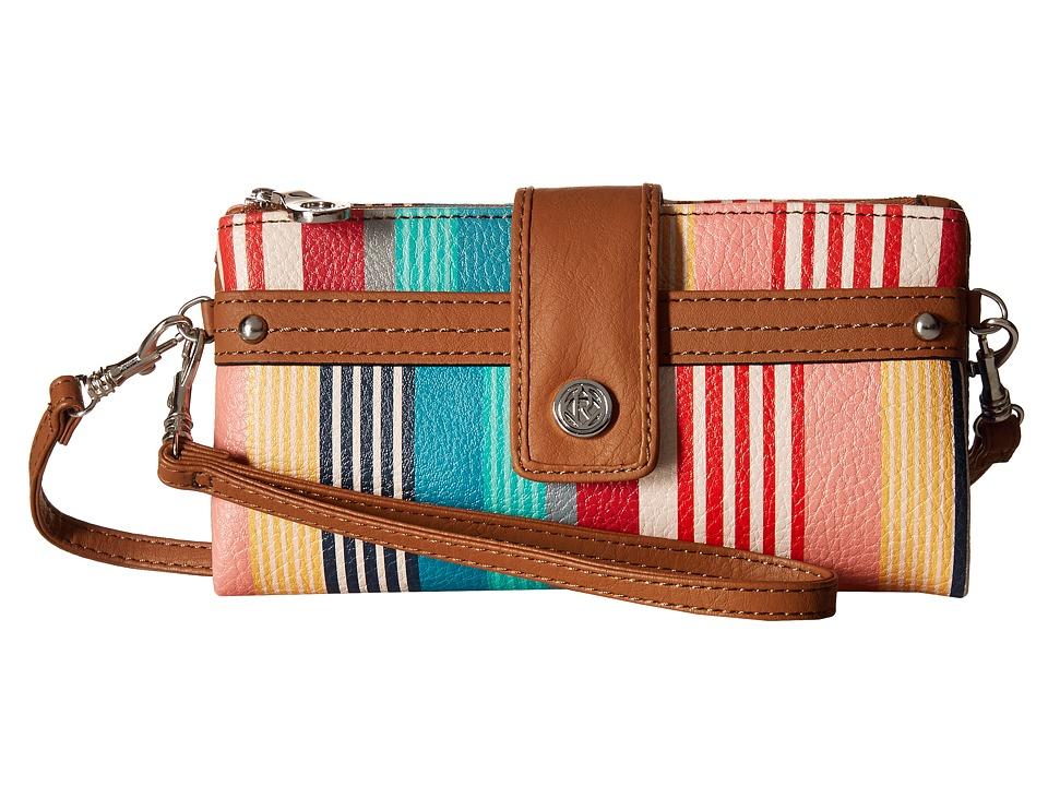 Relic - Vicky Tab Checkbook (Bright Stripe 1) Checkbook Wallet