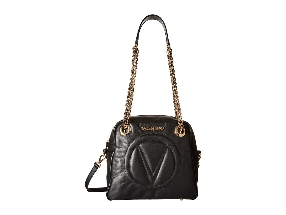 Valentino Bags by Mario Valentino - Palermo (Black) Shoulder Handbags
