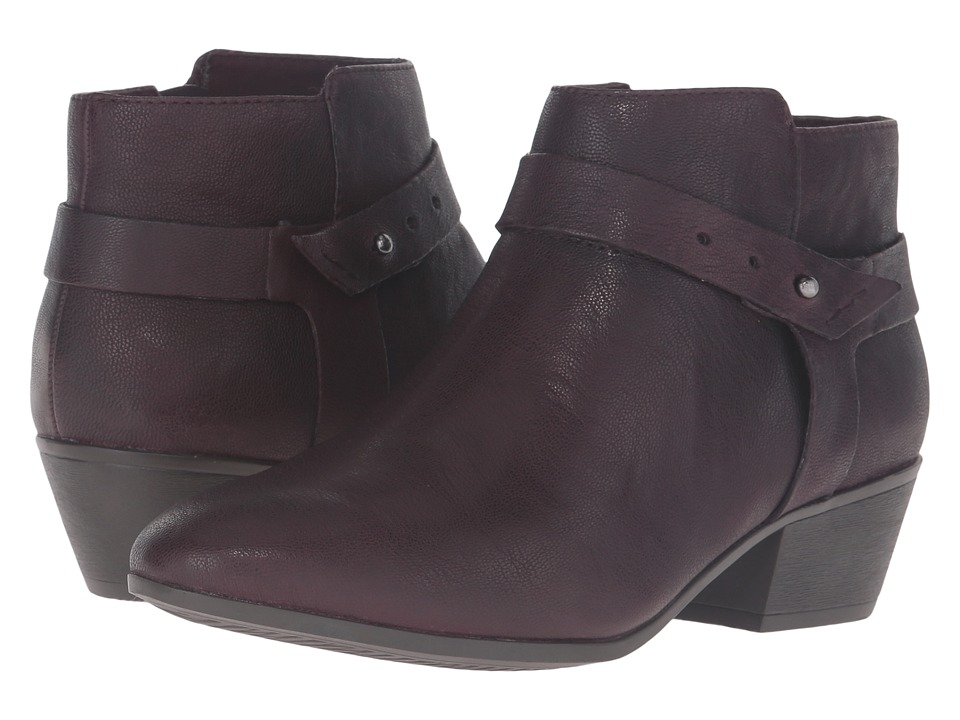 Clarks - Boylan Dawn (Aubergine) Women's Boots