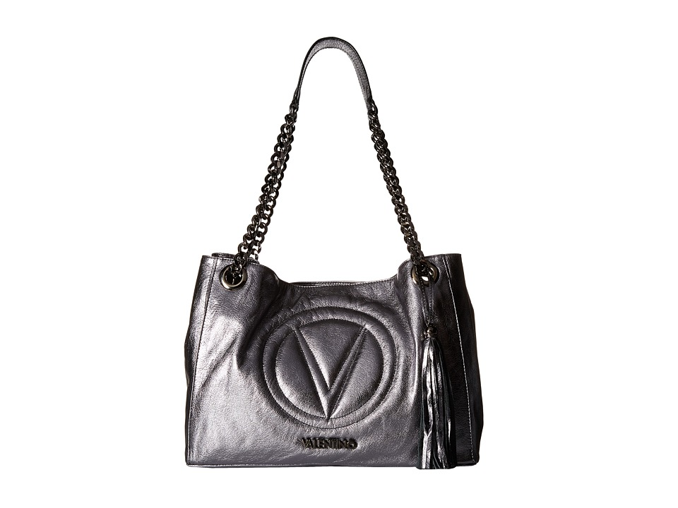 Valentino Bags by Mario Valentino - Verra (Lead/Grey) Shoulder Handbags