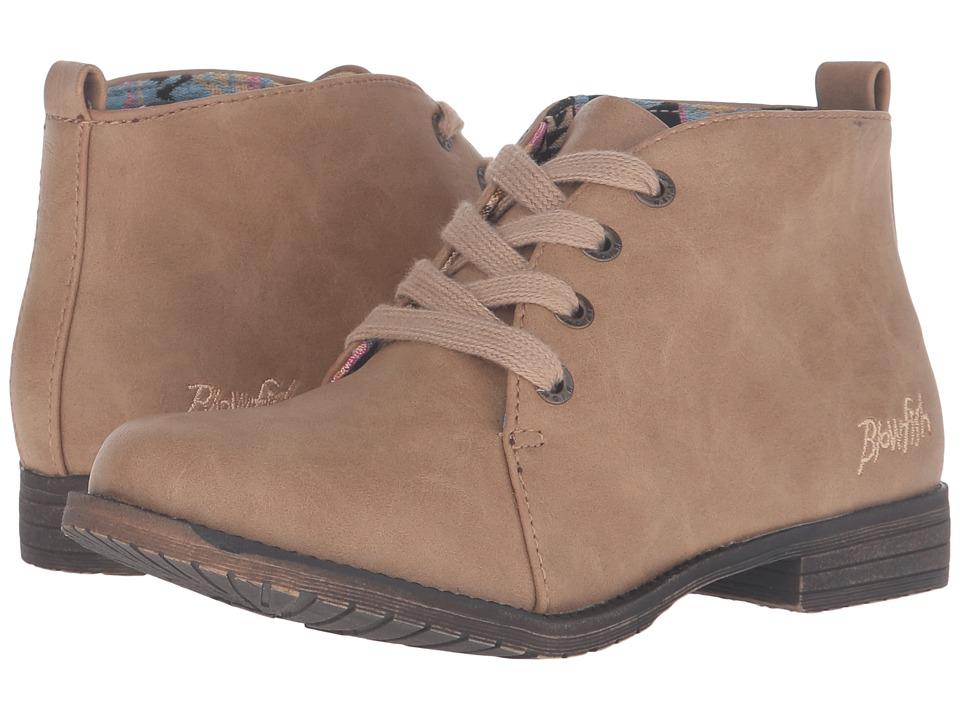 Blowfish Kids - Thorpe-K (Little Kid/Big Kid) (Sand Texas PU) Girl's Shoes
