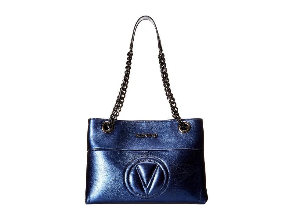 Valentino Bags by Mario Valentino - Karina (Blue) Shoulder Handbags