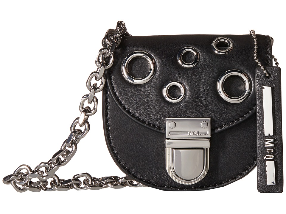 McQ - Grommet Coin Purse (Black) Coin Purse