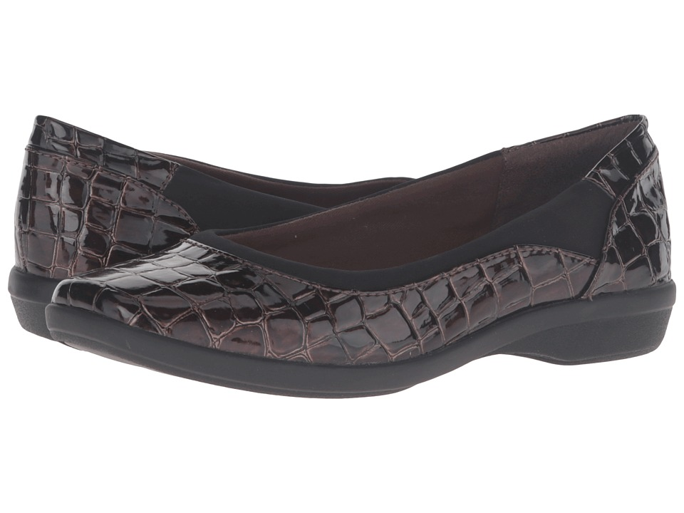 Clarks Haydn Pearl (Brown Croc) Women