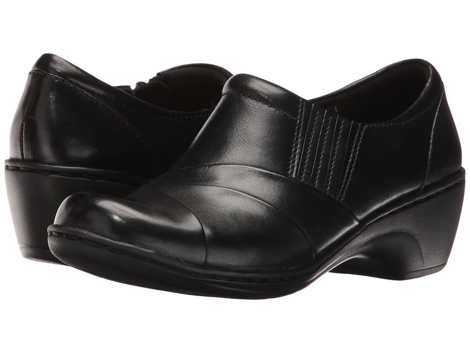 Clarks - Channing Essa (Black Leather) Women's Shoes