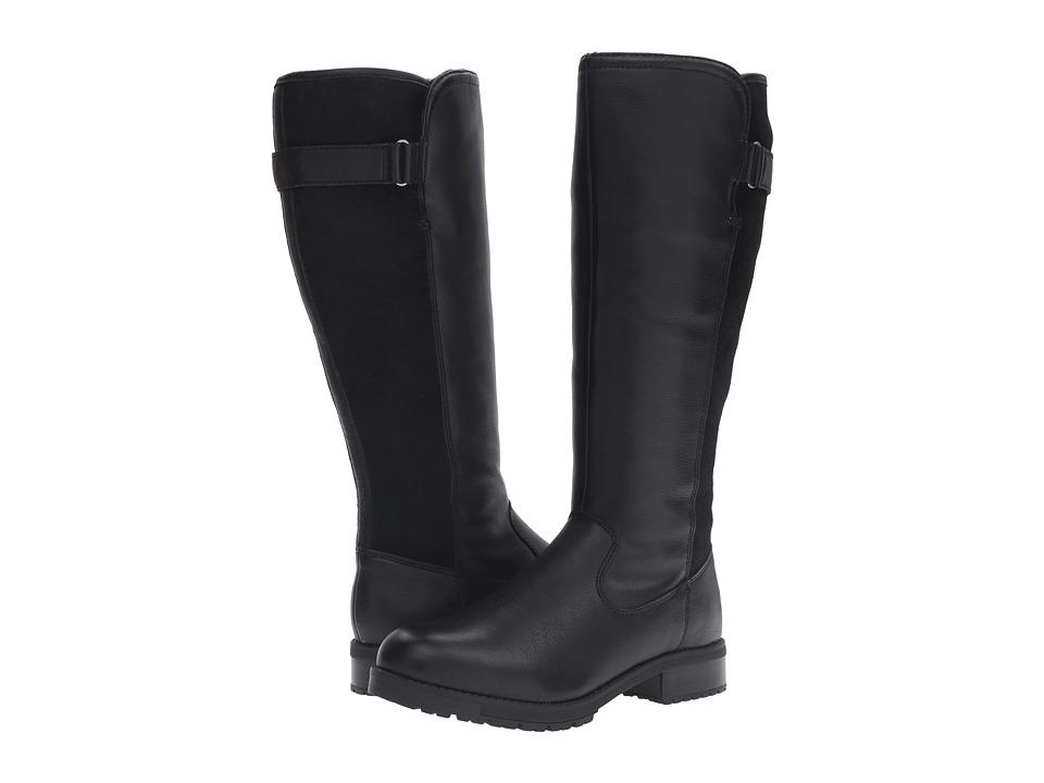 Clarks - Faralyn May (Black Waterproof) Women's Shoes