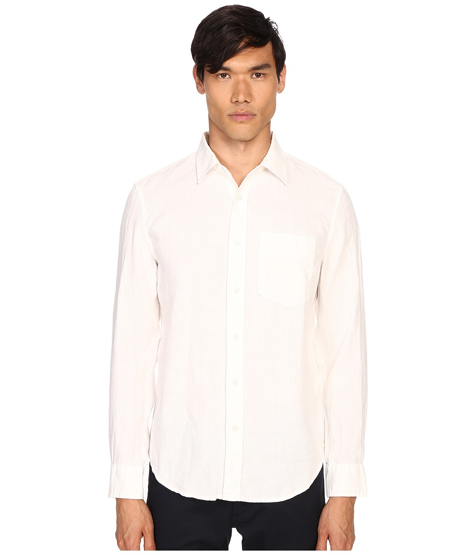 Jack Spade - Ferry Trapunto Point Collar Shirt (White) Men's Clothing