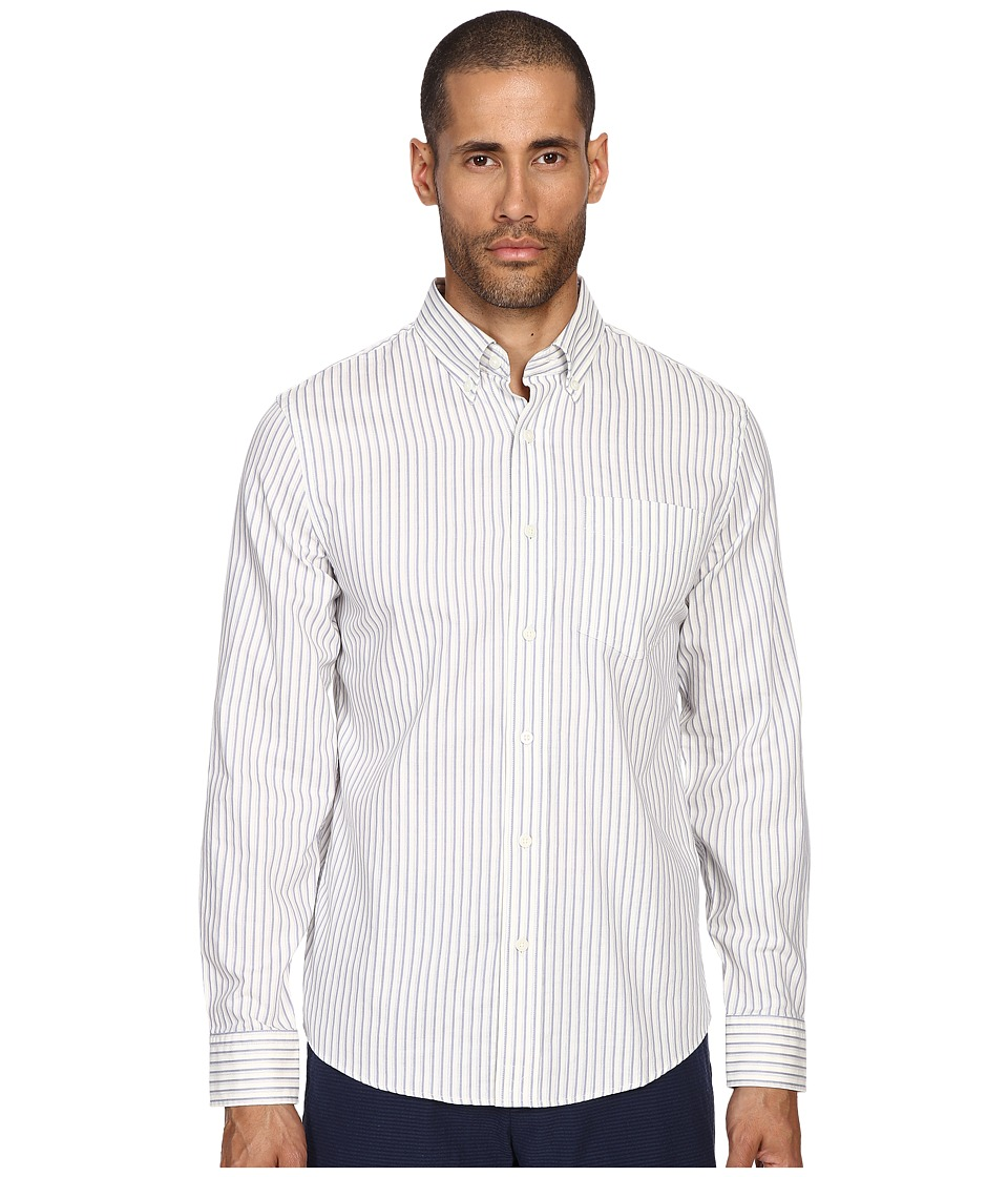 Jack Spade - Palmer Stripe Button Down (Blue) Men's Clothing