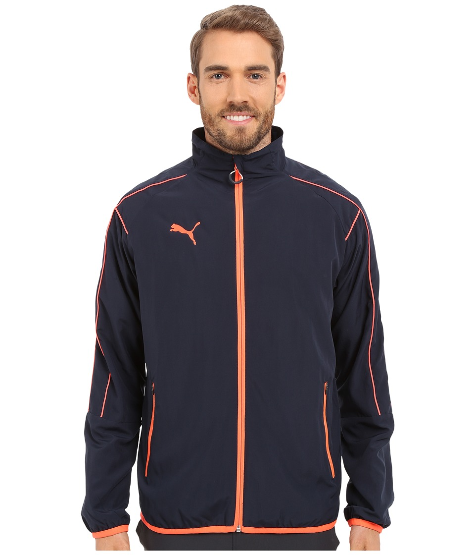 PUMA - It Evotrg Woven Jacket (Total Eclipse/Lava B) Men's Coat