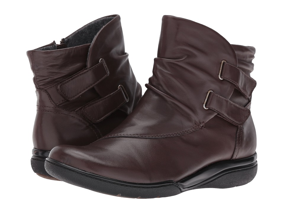 Clarks - Kearns Burst (Dark Brown Waterproof) Women