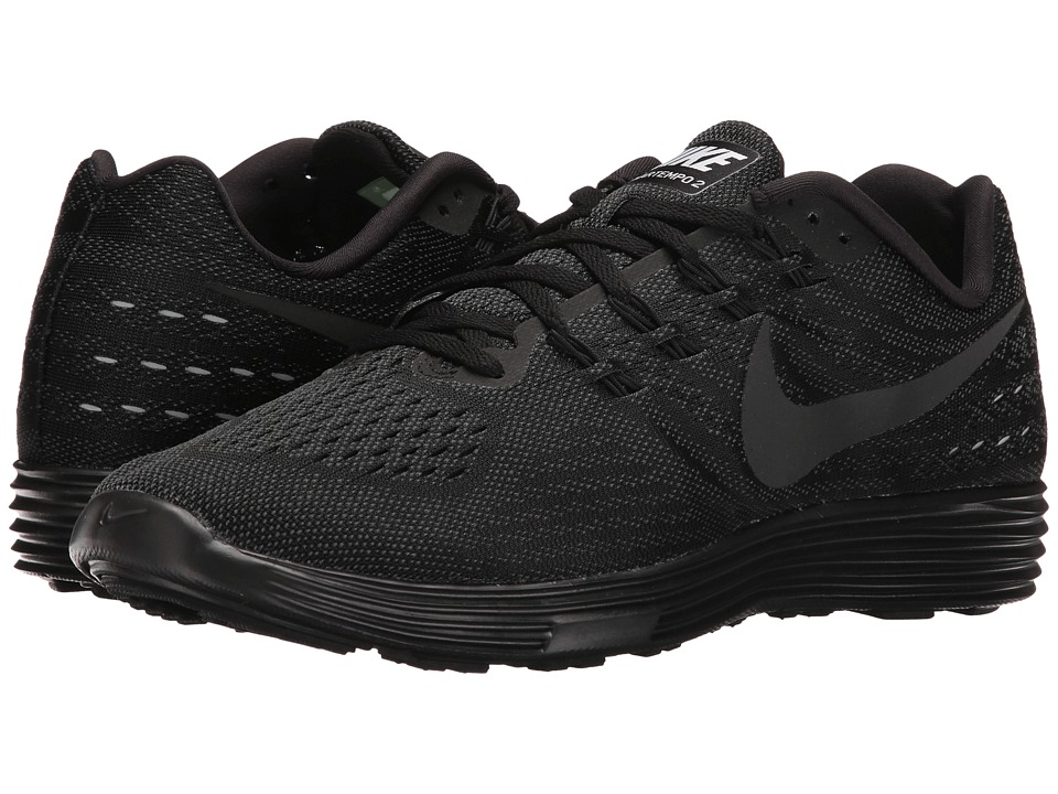 Nike - Lunartempo 2 (Black/Black/Anthracite) Men's Running Shoes