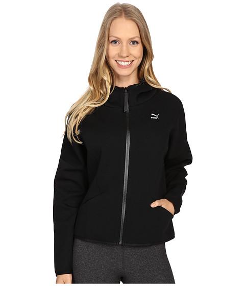 PUMA - Zip Hoodie (Black) Women's Sweatshirt