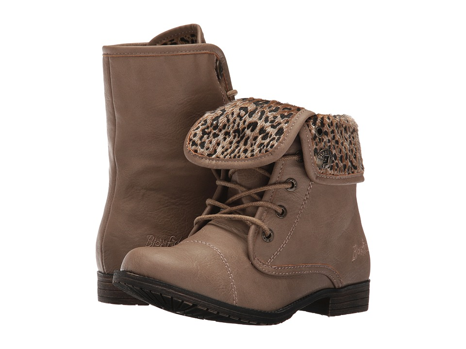 Blowfish Kids - Tarina-K (Little Kid/Big Kid) (Toast Old Ranger PU/Tan Spotted Pup) Girl's Shoes