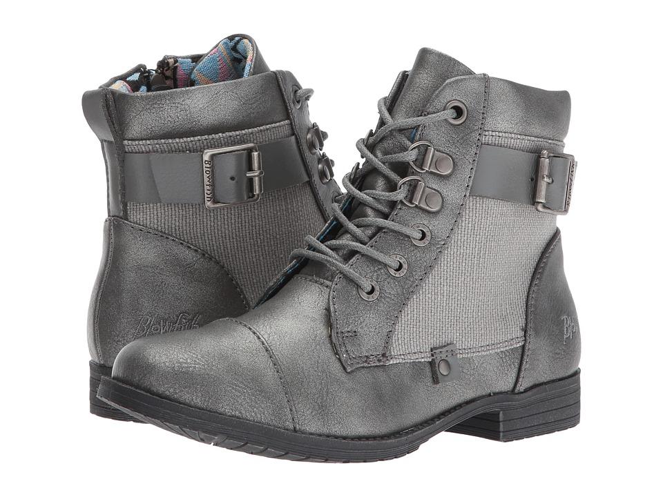 Blowfish Kids - Topot-K (Little Kid/Big Kid) (Pewter Me Glove/Steel Grey Rancher/Steel Grey Dyecut) Girl's Shoes