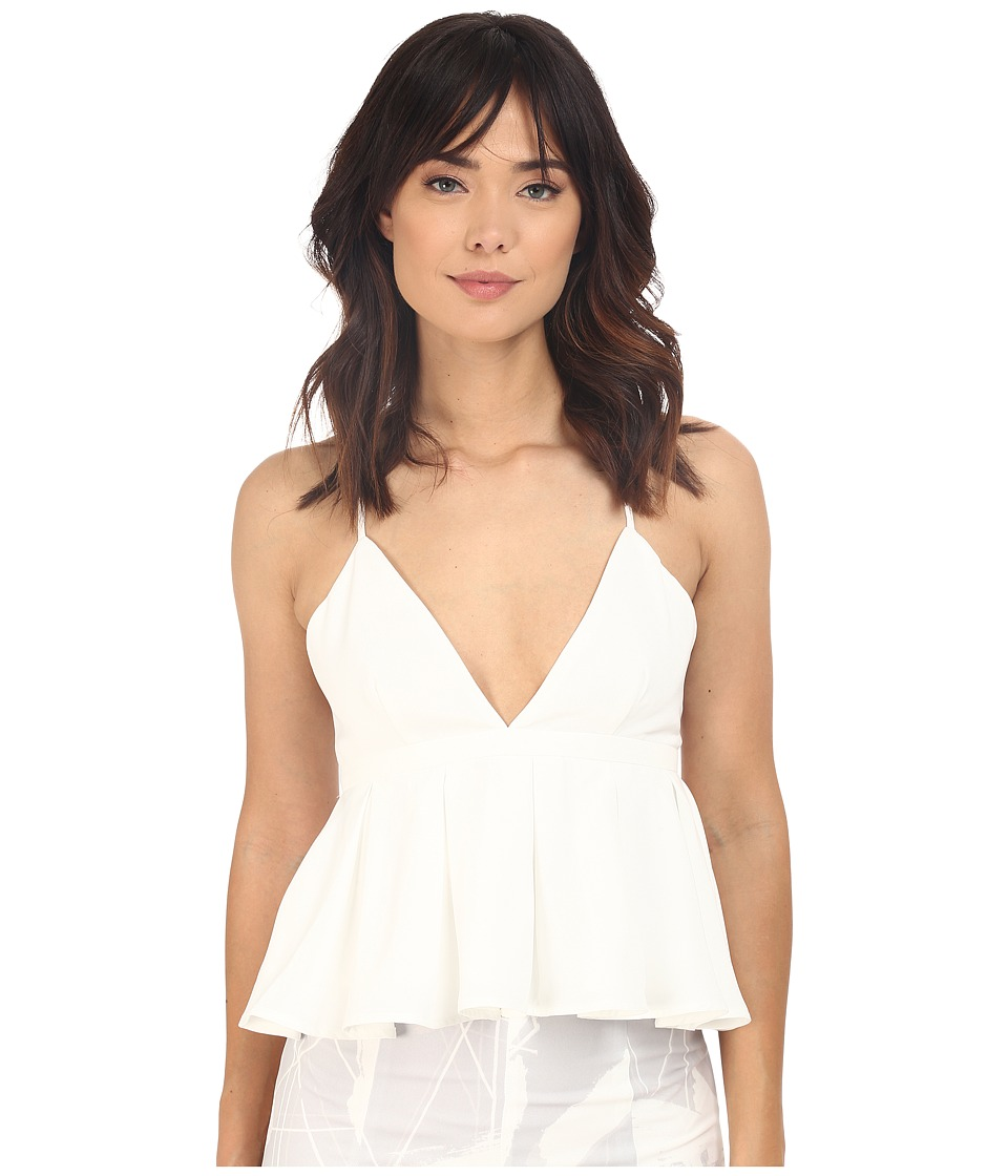 KEEPSAKE THE LABEL - Sun Up Top (Ivory) Women's Sleeveless