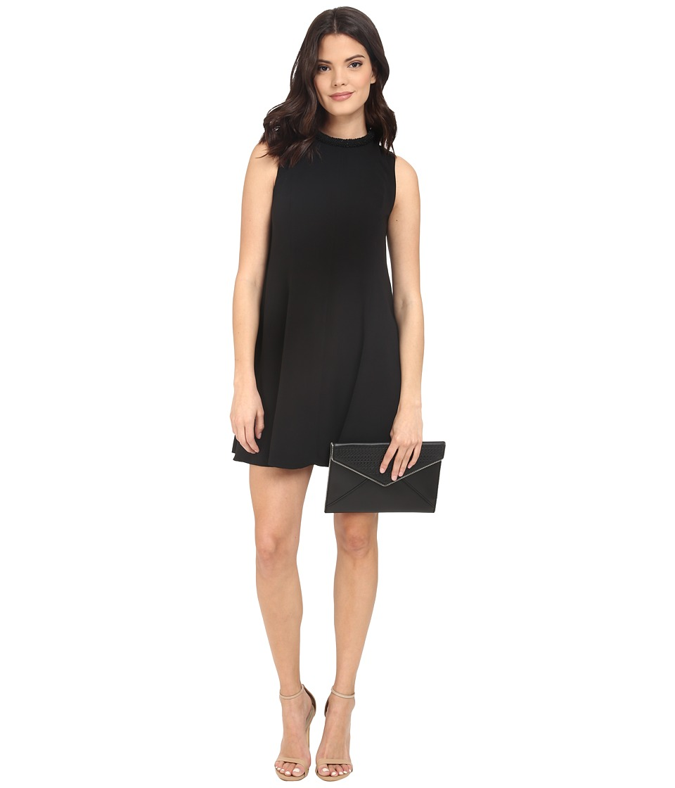 KEEPSAKE THE LABEL - Sun Up Mini Dress (Black) Women's Dress