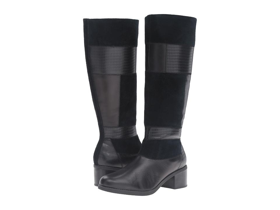 Clarks - Nevella Nova (Black Combo) Women's Shoes