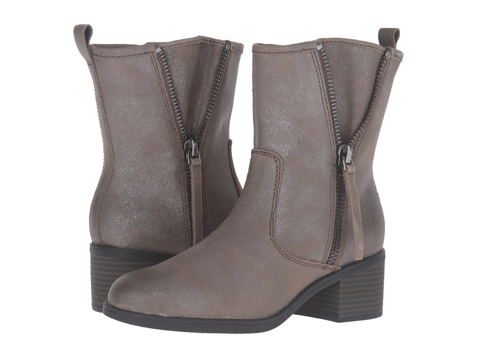Clarks - Nevella Devon (Dark Taupe Leather) Women's Shoes