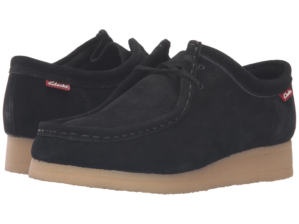 Clarks - Padmora (Black Suede) Women's Shoes