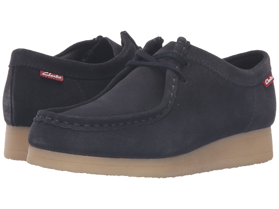 Clarks - Padmora (Navy Suede) Women's Shoes
