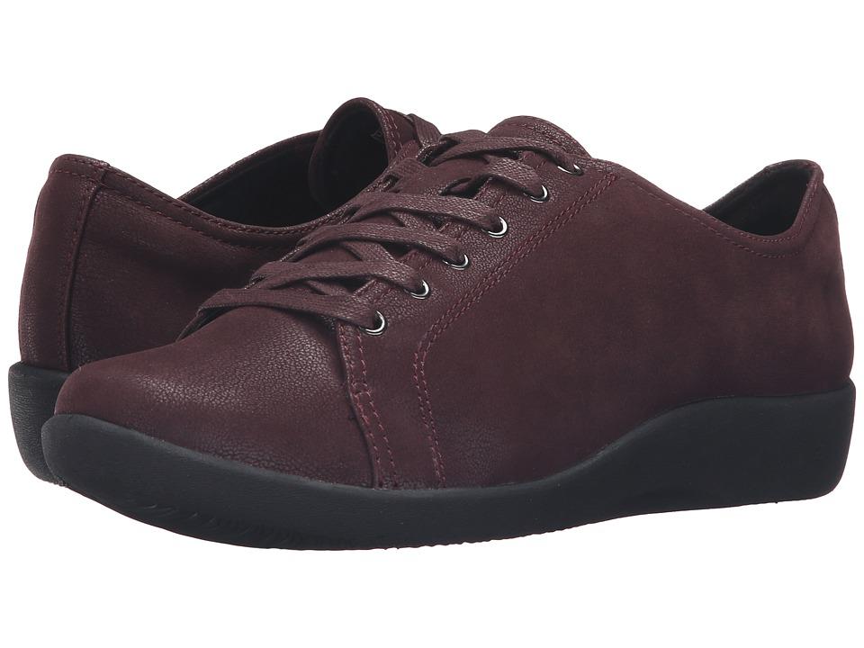 Clarks - Sillian Glory (Burgundy) Women's Shoes