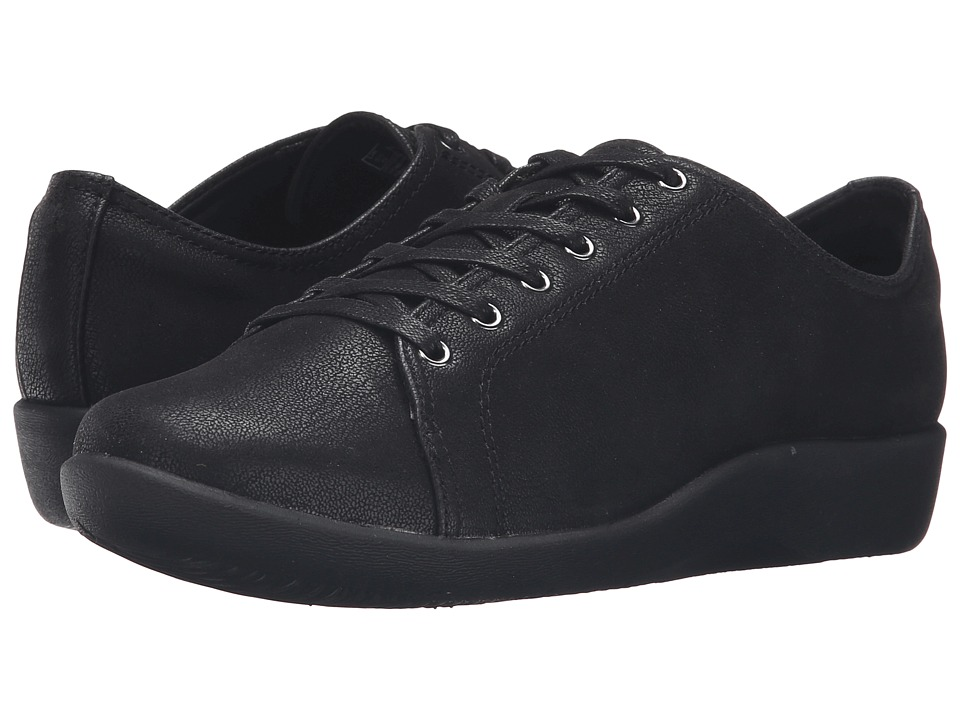 Clarks - Sillian Glory (Black Synthetic) Women's Shoes