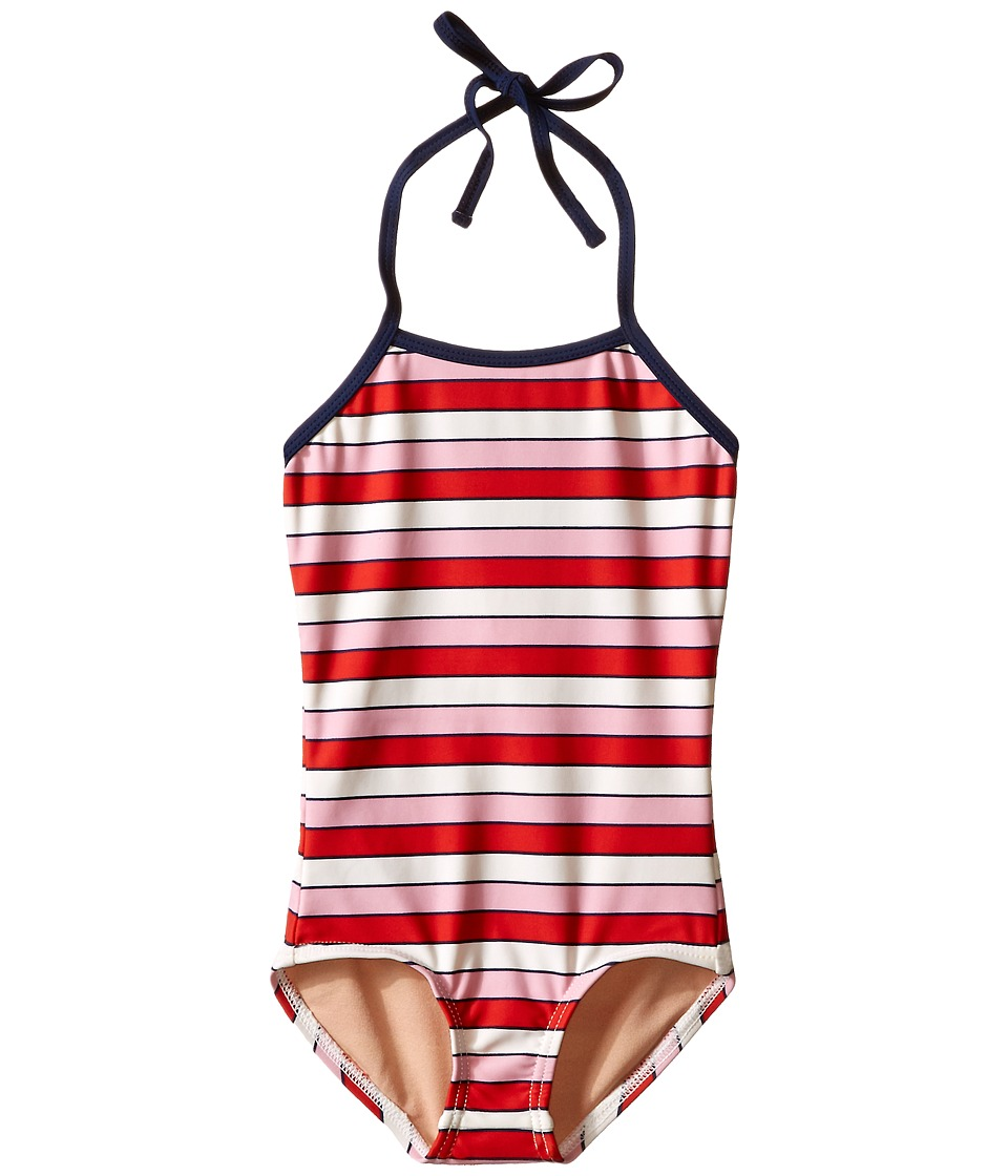 Toobydoo - Multi Pink One-Piece Swimsuit (Infant/Toddler/Little Kids/Big Kids) (Pink/Red/White/Navy) Girl's Swimsuits One Piece
