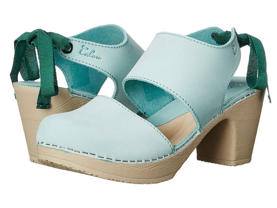 Calou Stockholm - Blanca (Aqua) Women's Shoes