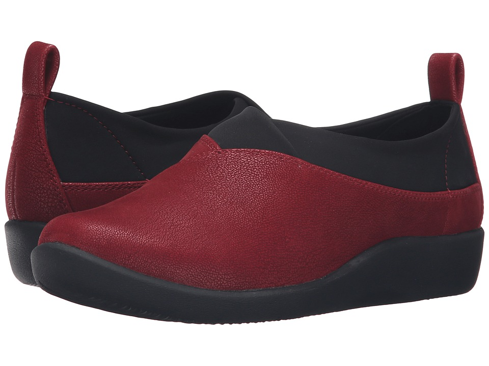 Clarks - Sillian Greer (Cherry) Women's Shoes