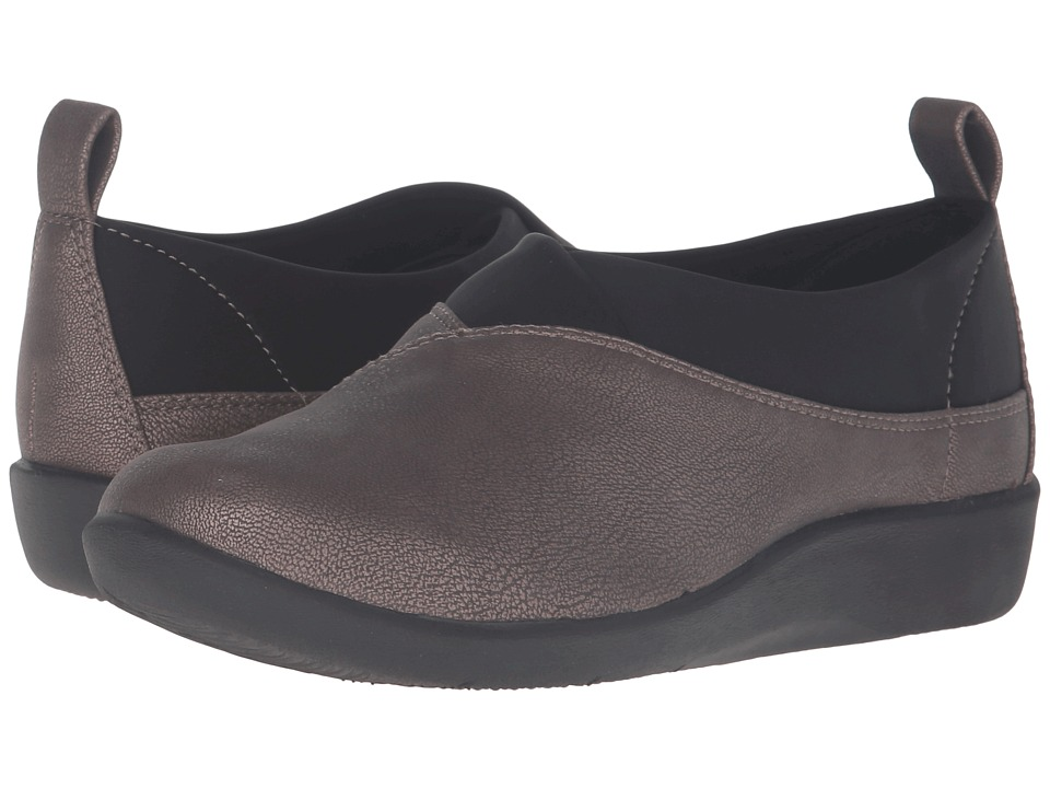 $29.99 More Details · Clarks - Sillian Greer (Pewter Metallic) Women's Shoes