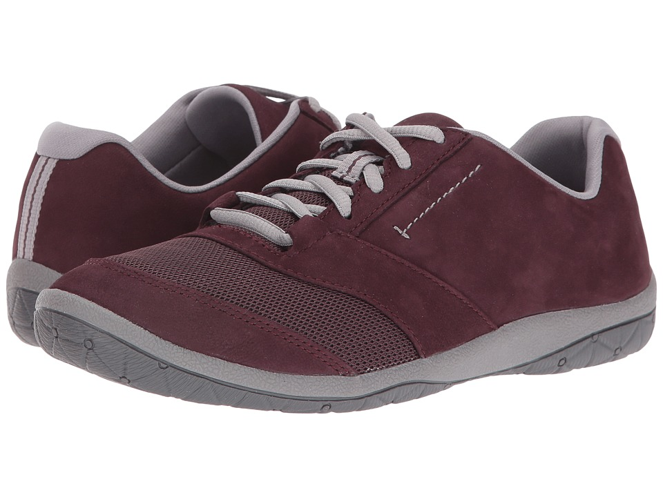 Clarks - Teffa Hoyle (Aubergine) Women's Shoes