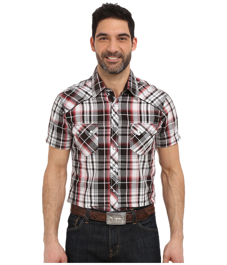 Rock and Roll Cowboy - Short Sleeve Snap B1S6280 (Red) Men's Long Sleeve Button Up