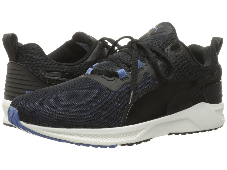 PUMA - Ignite XT V2 (Puma Black/Puma White/Blue Yonder) Men's Running Shoes
