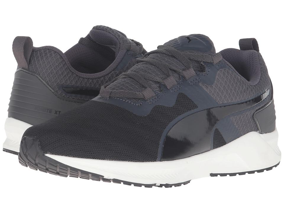 PUMA - Ignite XT V2 (Puma Black/Asphalt) Men's Running Shoes