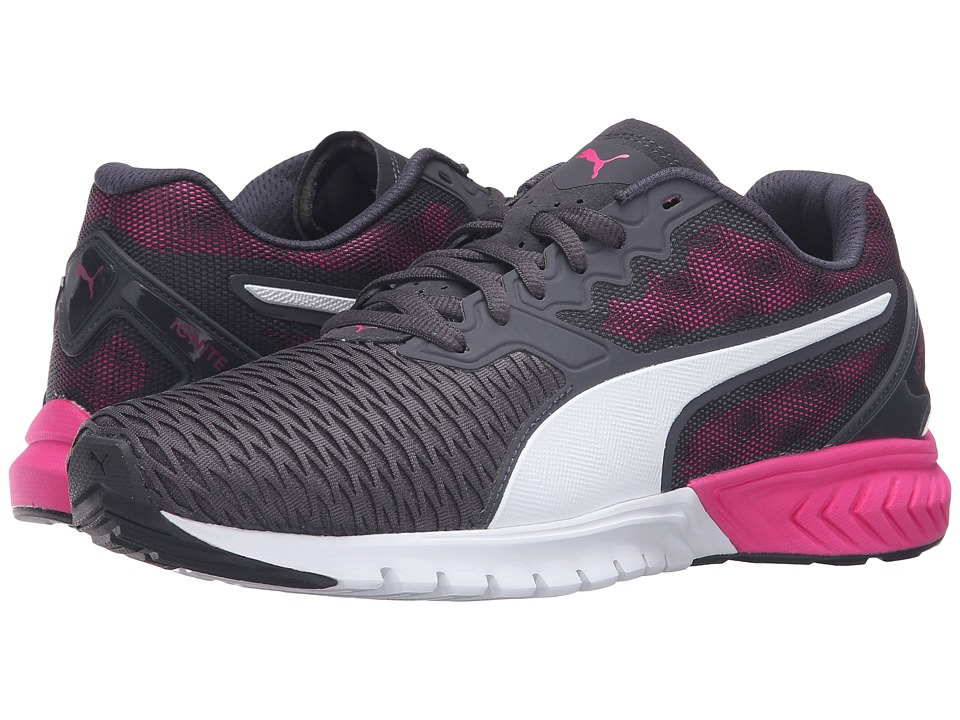 PUMA - Ignite Dual (Periscope/Pink Glo) Women's Running Shoes