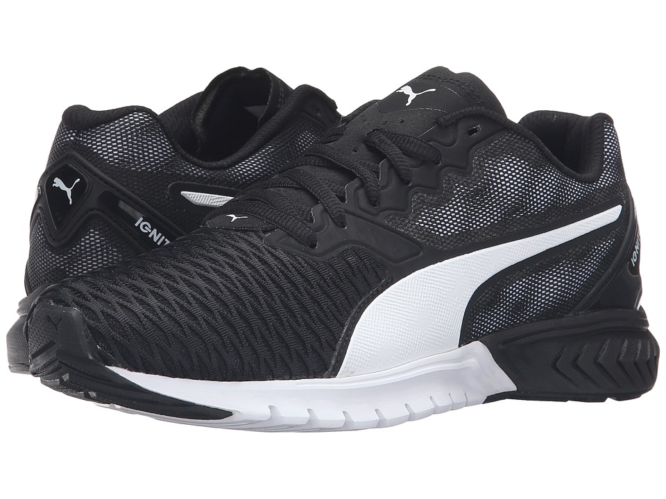 PUMA - Ignite Dual (Puma Black/Puma White) Women's Running Shoes