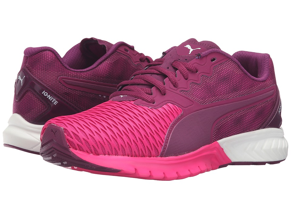 PUMA - Ignite Dual (Magenta Purple/Pink Glow) Women's Running Shoes