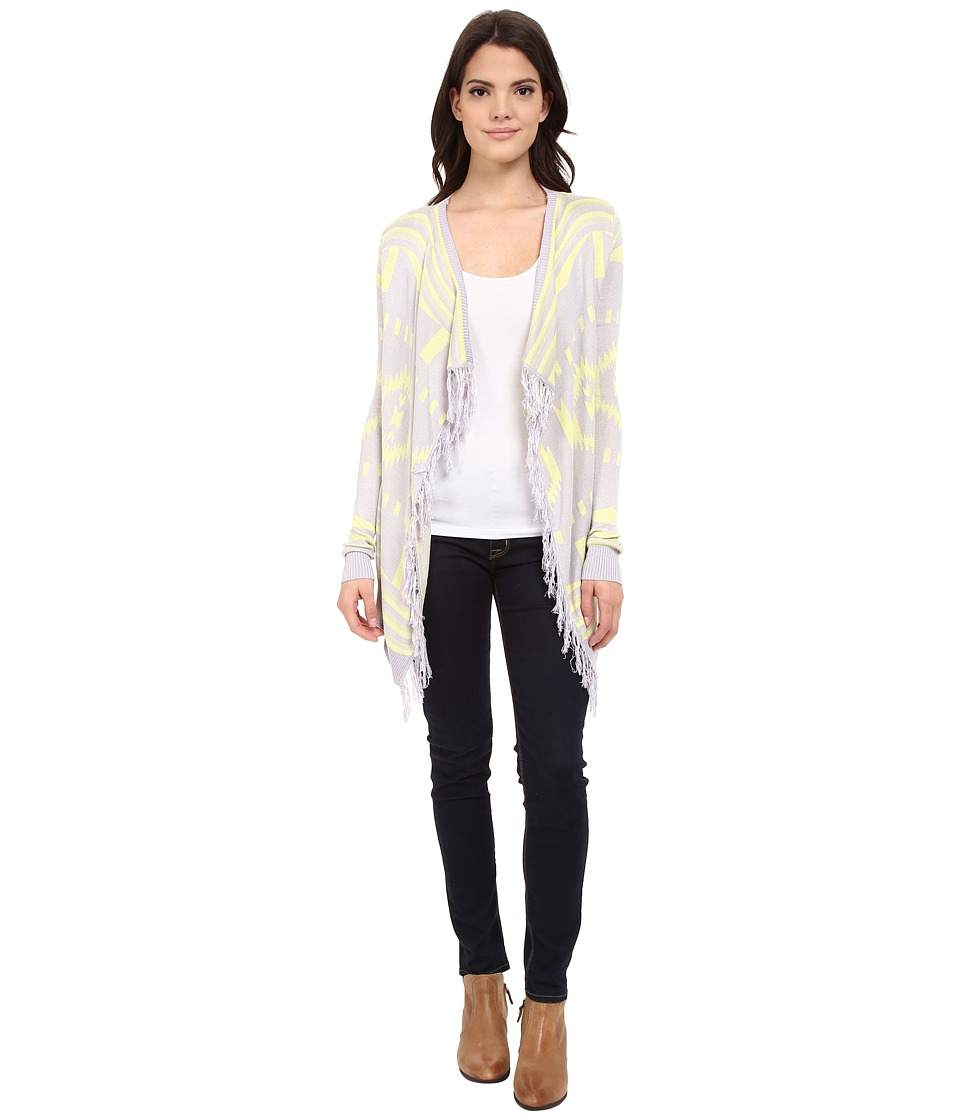 Rock and Roll Cowgirl - Long Sleeve Cardigan 46-6201 (Iris) Women's Sweater