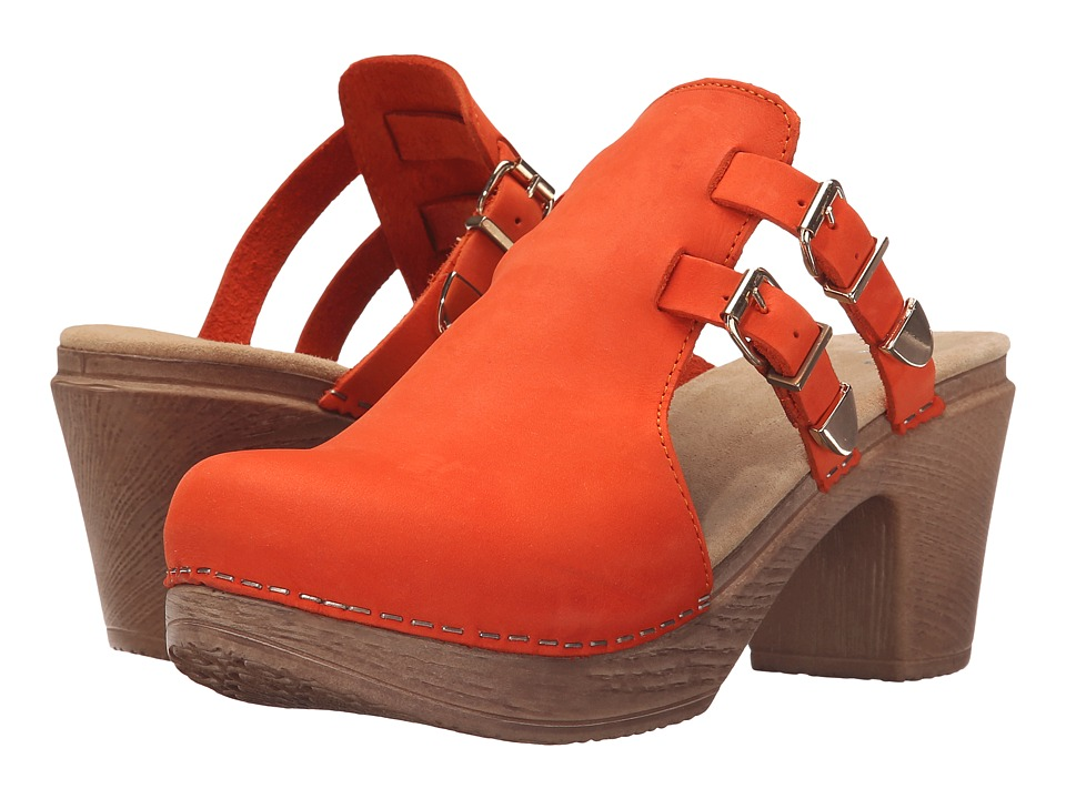 Calou Stockholm - Katty (Orange) Women's Shoes